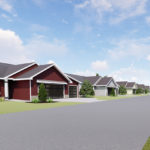 City Park Villas condominium development Hudsonville Michigan
