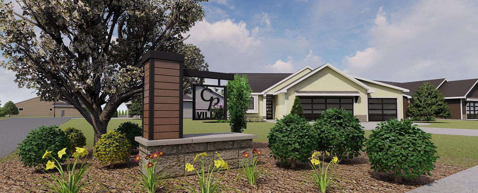 City Park Villas in Hudsonville Michigan - fine community living in beautiful development